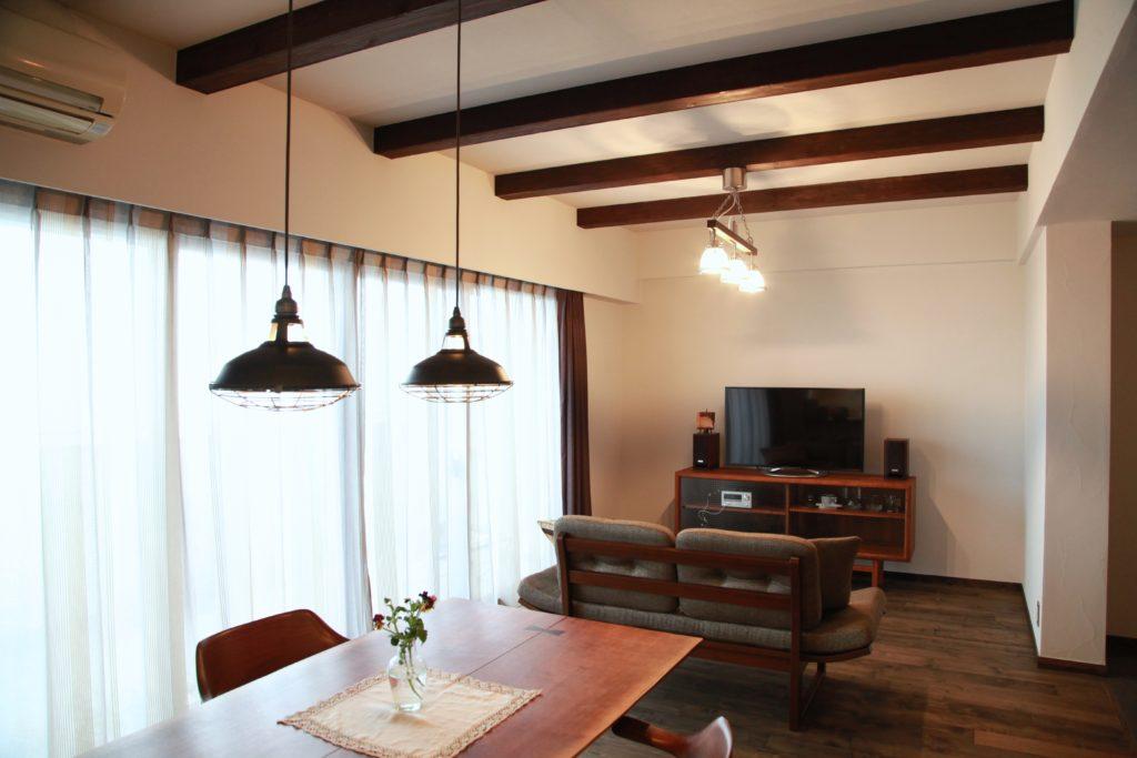 【マンション】ヴィンテージな家具・雑貨と調和する暮らし(海老名市)