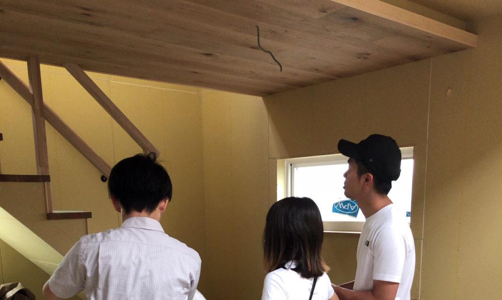 検査立会い ▶綾瀬市の家