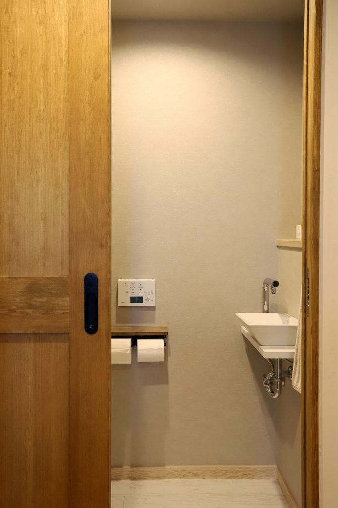 ホテルライクなトイレ