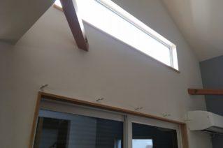 天然素材のカーテン ▶葉山町の家