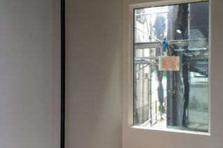 グレー漆喰の天井 / 大和市の家