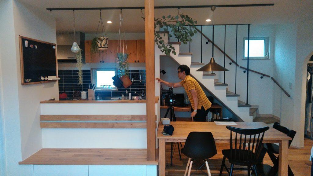 雑誌の取材に同行しました    ▶︎横浜市の家